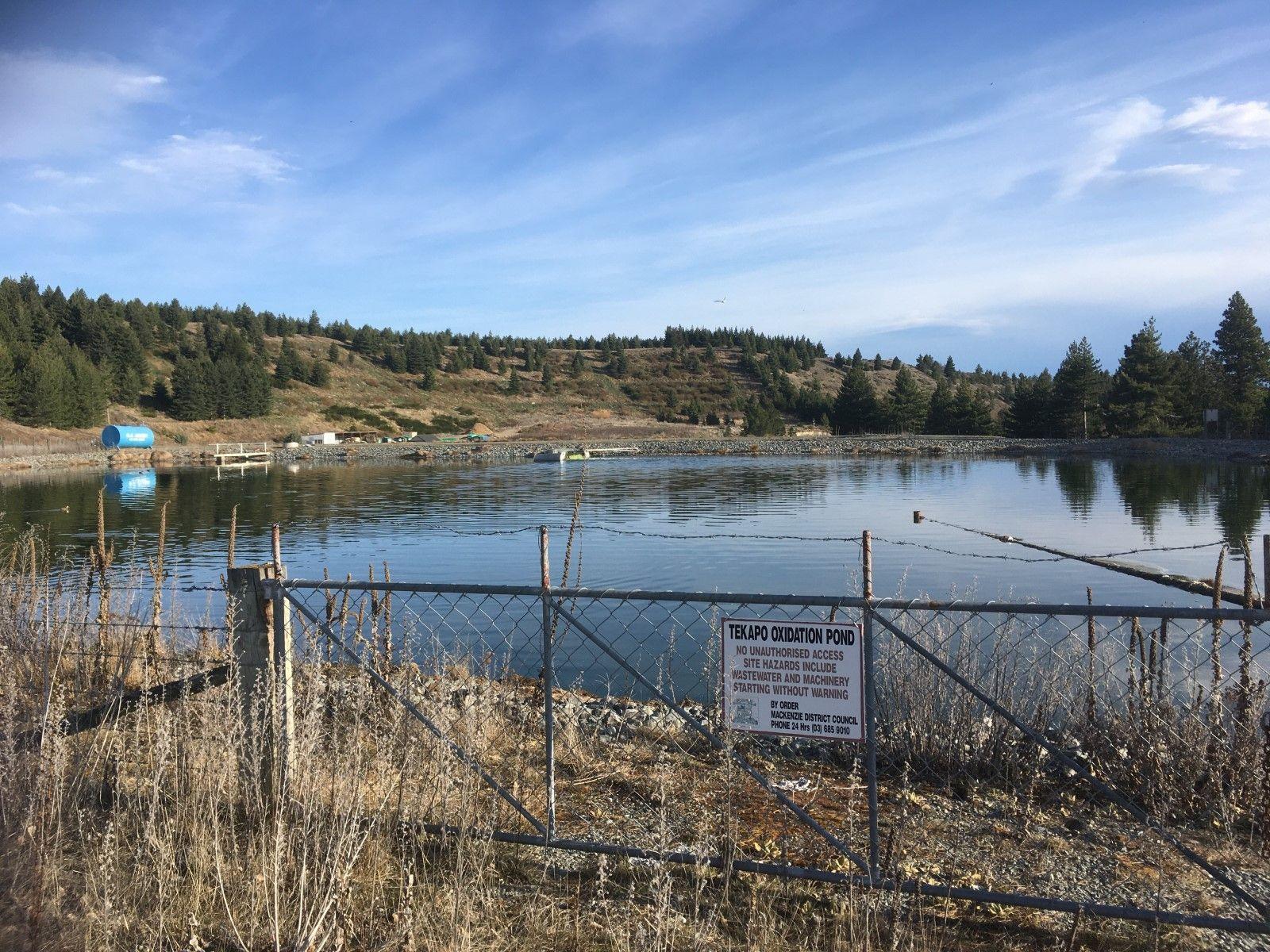Tekapo Water Oxidation Pond banner image
