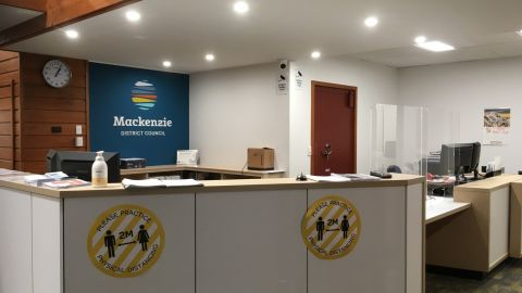 Mackenzie District Council completes refurbishment of Fairlie and Twizel offices